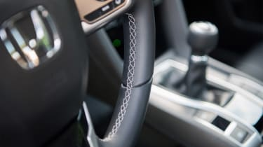 Honda Civic Saloon - steering wheel detail