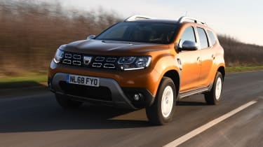 Dacia Duster: long term test review - front tracking