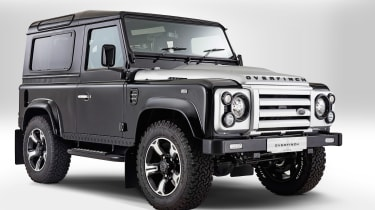 Overfinch Defender 40th Anniversary front