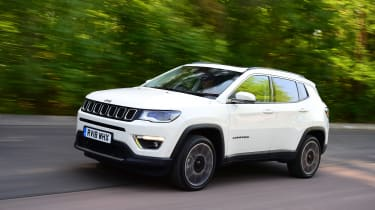 Jeep Compass - front tracking