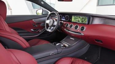 Mercedes S-Class Coupe - dash