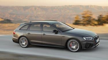 Audi A4 Avant - front action