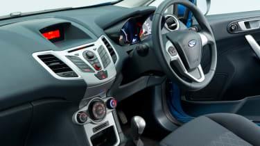 Ford Fiesta (used) - interior