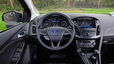 Ford Focus 1.0 EcoBoost Titanium interior