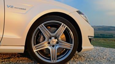 Mercedes CLS 63 AMG Shooting Brake wheel