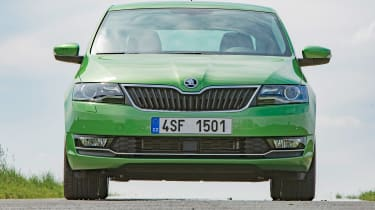 Skoda Rapid - full front static