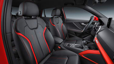 Audi Q2 Red front seats