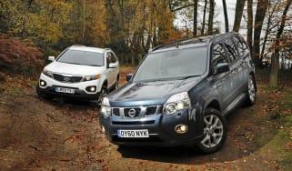 Nissan X-Trail vs. Kia Sorento