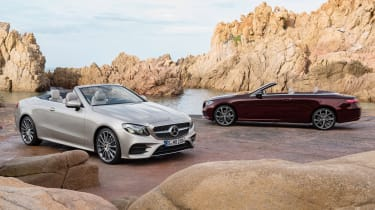 Mercedes E-Class Cabriolet 2017 - twin