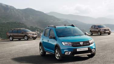 Dacia range updates