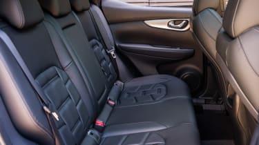 New Nissan Qashqai 2017 rear seats