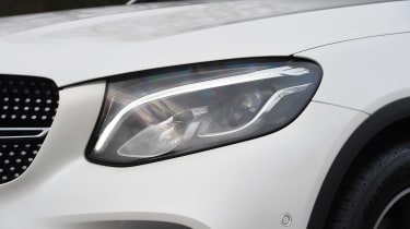 Mercedes GLC Coupe - front light detail