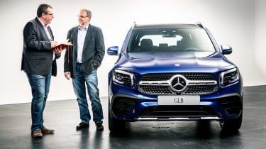 Mercedes GLB - studio John McIlroy