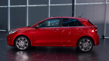 New Kia Rio - reveal event side
