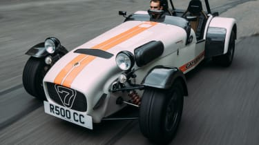 Caterham Seven road trip - Superlight R500 front