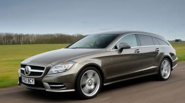 Mercedes CLS 250 CDI Shooting Brake front tracking