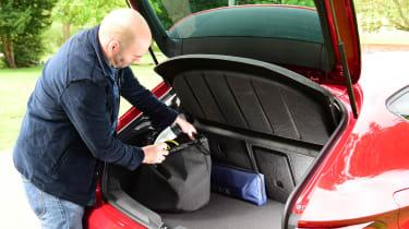 SEAT Leon e-Hybrid long termer - first report boot
