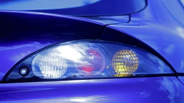 Ford Puma icon review - rear light