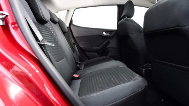 Ford Fiesta - back seats