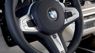 BMW 7 Series 760Li - steering wheel