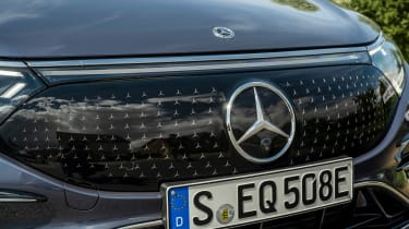 New Mercedes EQS 2021 review - badge