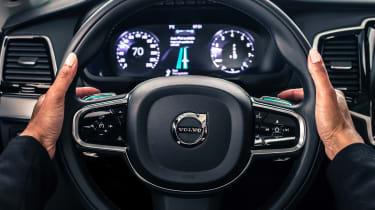 Volvo Uber autonomous car wheel