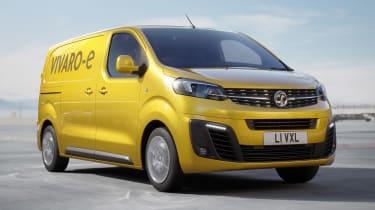 Vauxhall Vivaro-e - front action