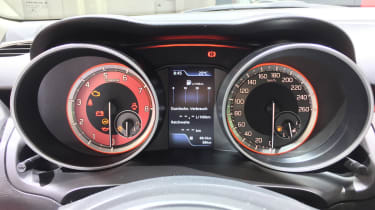 New 2018 Suzuki Swift Sport  dials