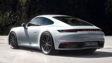 Porsche 911 Carrera 4 - rear 3/4 static