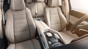 Mercedes GLS - studio seats