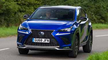 Used Lexus NX - front action