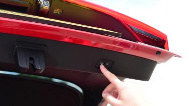 Audi A7 Sportback - electric boot
