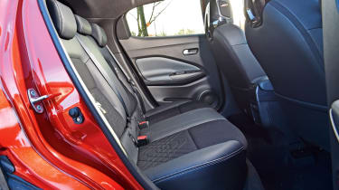 Nissan Juke rear seats
