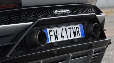 Lamborghini Huracan Evo - exhausts