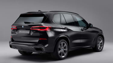 BMW X5 Protection VR6 - rear