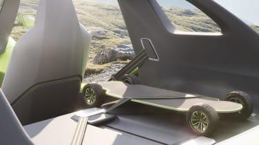 Volkswagen ID. Buggy concept - skateboard