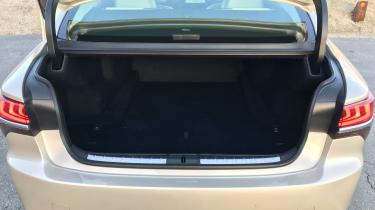 Lexus LS review - boot