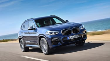 BMW X3 M40i - front action