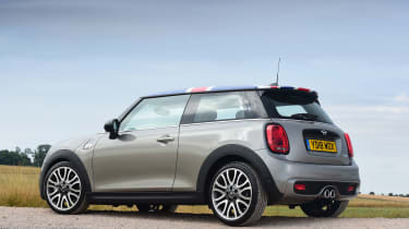 MINI Cooper S - rear static