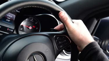 Mercedes X 350 d long-term test - second report steering wheel