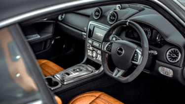 David Brown Automotive Speedback Silverstone edition interior