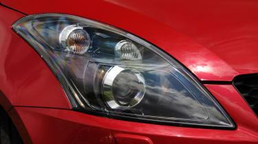 Suzuki Swift Sport headlight detail