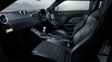 Lotus Evora GT410 - cabin