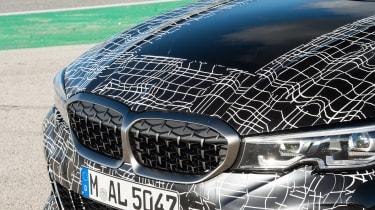 BMW M340i xDrive prototype - grille