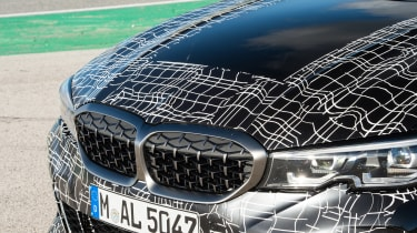 BMW M340i xDrive prototype - grille