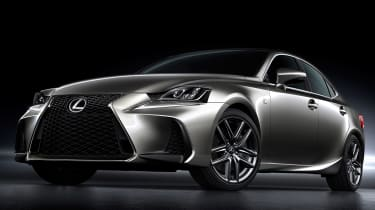 Lexus IS 2016 static