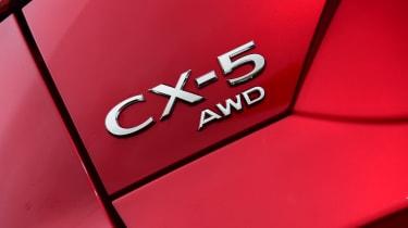 Mazda CX-5 - CX-5 badge