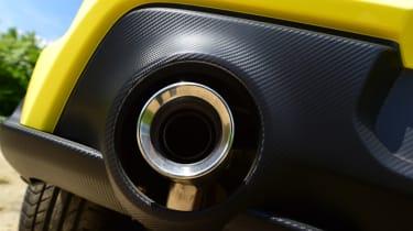 Suzuki Swift Sport - tailpipe