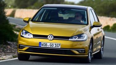 Volkswagen Golf 2017 facelift 1.5 TSI EVO - front cornering 3