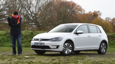 Volkswagen e-Golf long-term test - front